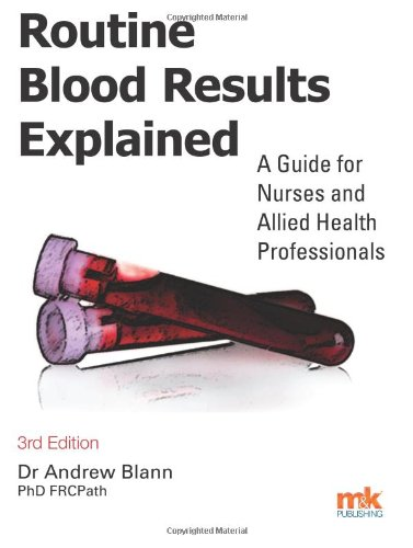 9781905539888: Routine Blood Results Explained