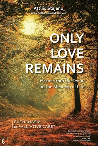 9781905570775: Only Love Remains: Lessons from the Dying on the Meaning of Life: Euthanasia or Palliative Care?