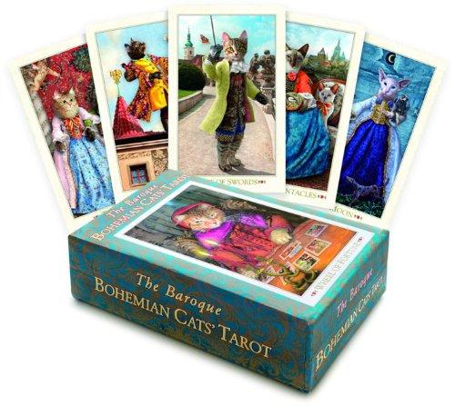 9781905572120: The Baroque Bohemian Cats' Tarot