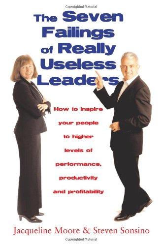 9781905587001: The Seven Failings of Really Useless Leaders