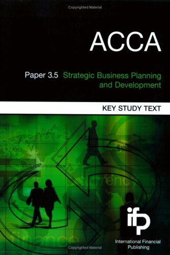 9781905623211: ACCA Paper 3.7 Strategic Financial Management (ACCA)