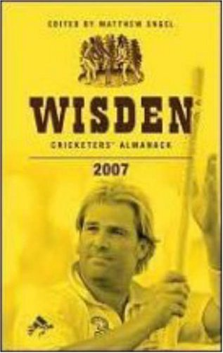 Wisden Cricketers' Almanack, 2007 (144th Edition): Engel, Matthew (ed.)