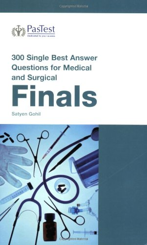 9781905635252: 300 Single Best Answer Questions for Medical and Surgical Finals