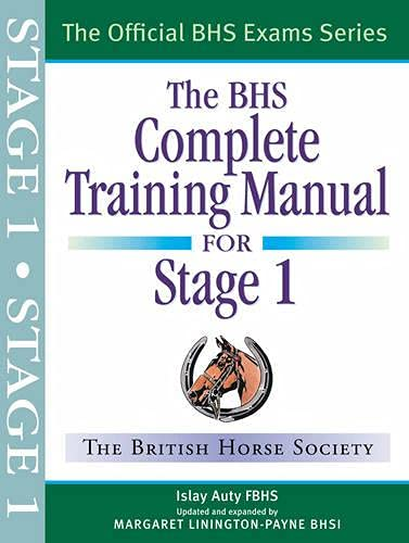 9781905693207: BHS Complete Training Manual for Stage 1
