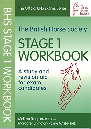 9781905693221: BHS Workbook: A Study and Revision Aid for Exam Candidates: Stage 1 (Official Bhs Exams)