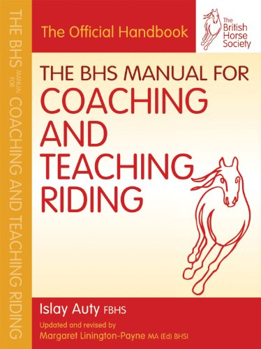 9781905693450: The BHS Manual for Coaching and Teaching Riding (British Horse Society)