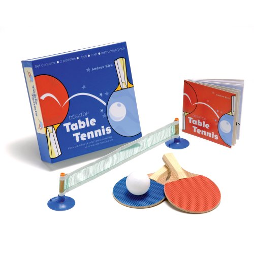 9781905695096: Desktop Table Tennis: Enjoy the Thrill of Table Tennis Anywhere with This Mini Portable Set