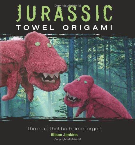 9781905695782: Jurassic Towel Origami