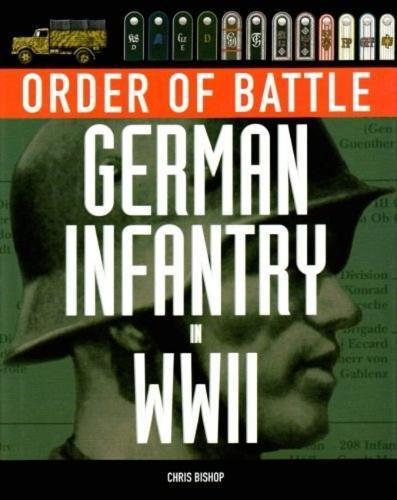 9781905704859: Order of Battle: German Infantry in World War II