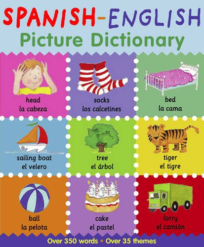 9781905710690: Spanish-English Picture Dictionary. Catherine Bruzzone & Louise Millar (Picture Dictionary Series)