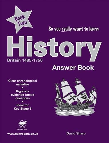 So you really want to learn History Book 2 Answers - David Sharp