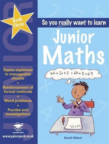 9781905735266: Junior Maths Book 3