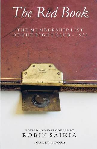9781905742028: The Red Book - The Membership List of the Right Club - 1939
