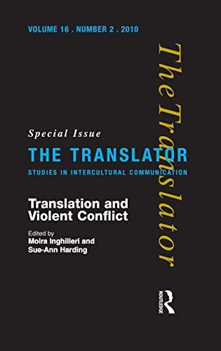 9781905763238: Translation and Violent Conflict (Translator: Studies in Intercultural Communication)
