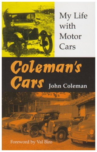 9781905770205: Coleman's Cars: My Life with Motor Cars