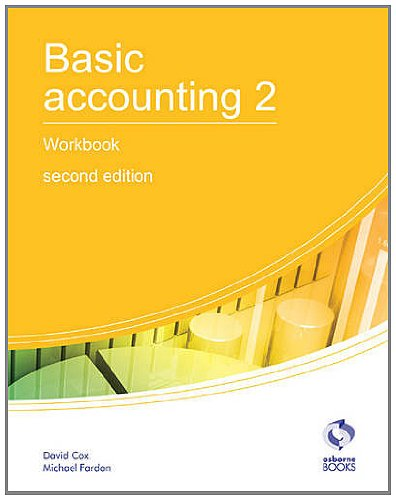 9781905777679: Basic Accounting 2 Workbook: 2 (AAT Accounting - Level 2 Certificate in Accounting)