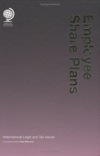 9781905783144: Employee Share Plans: International Legal and Tax Issues