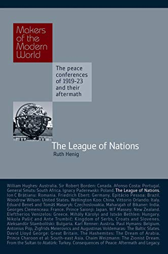 9781905791750: Makers of Modern World Subscription: The League of Nations (Makers of the Modern World)