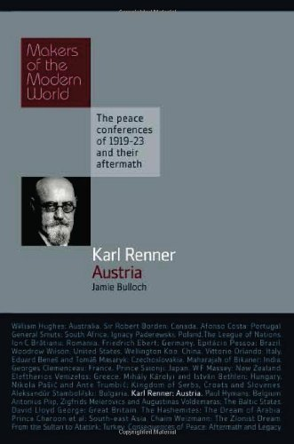 9781905791897: Karl Renner: Austria (Makers of the Modern World)