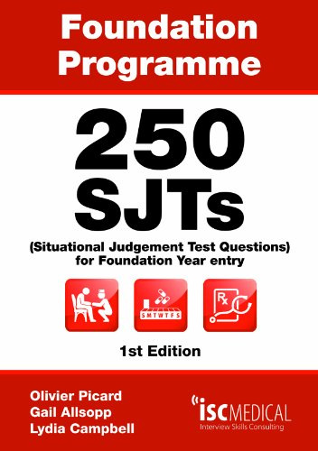 250 SJTs (Situational Judgement Test questions) for: Lydia Campbell