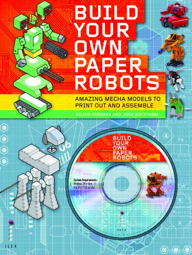 9781905814541: Build Your Own Paper Robots: 100s of Mecha Model Designs on CD to Print Out and