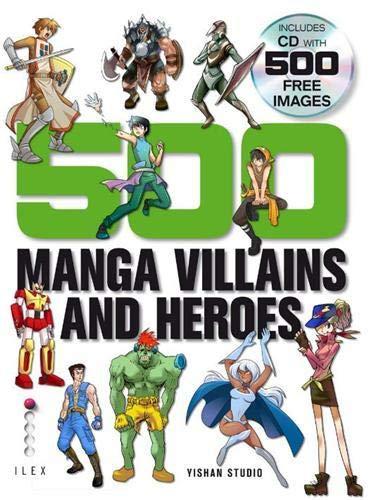 9781905814947: 500 Manga Villains and Heroes