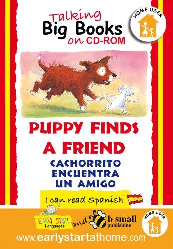 9781905842636: Puppy Finds a Friend (Cachorrito Encuentra Un Amigo): Talking Big Books in Spanish (Spanish Edition)