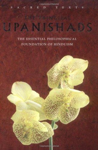 The Principal Upanishads (Sacred Texts): Alan Jacobs