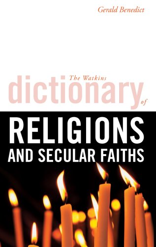 9781905857401: Watkins Dictionary of Religions and Secular Faiths