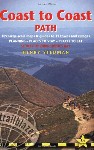 Coast to Coast Path, 3rd (British Walking Guides): Henry Stedman