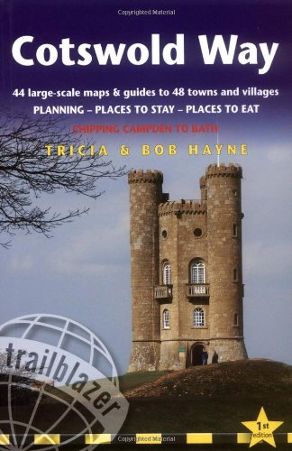 9781905864164: Cotswold Way: British Walking Guide: planning, places to stay, places to eat; includes 44 large-scale walking maps (Trailblazer Guides)
