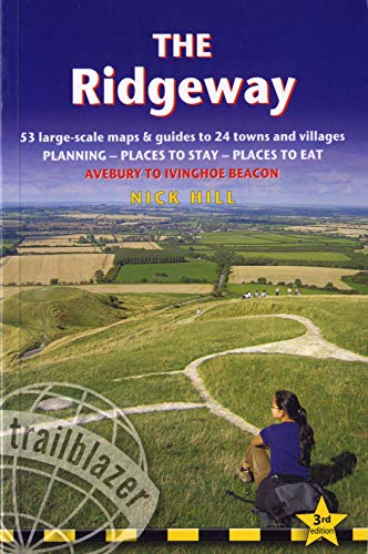 9781905864409: The Ridgeway, 3rd: British Walking Guide: planning, places to stay, places to eat; includes 53 large-scale walking maps (British Walking Guide ... Planning, Places to Stay, Places to Eat)
