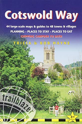 9781905864706: Cotswold Way: 44 Large-Scale Walking Maps & Guides to 48 Towns and Villages Planning, Places to Stay, Places to Eat - Chipping Campden to Bath (British Walking Guides)