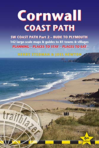9781905864713: Cornwall Coast Path (Trailblazer British Walking Guide): Practical walking guide with 142 Large-Scale Maps & Guides to 81 Towns & Villages; Planning, ... Walking Guide) (British Walking Guides)