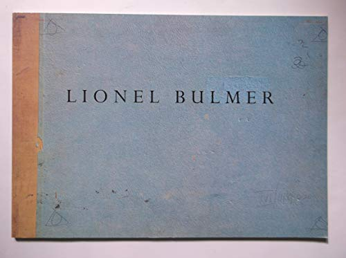 Drawings from the studio estate of Lionel: Lionel Bulmer.