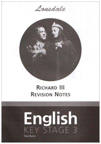 "Key Stage 3 Shakespeare ""Richard III"" (Essentials of KS3) (1905896166) by Burns, Paul"