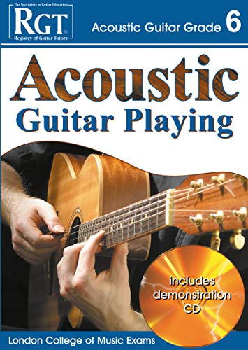 9781905908066: RGT - Acoustic Guitar Playing - Grade 6 (RGT Guitar Lessons)