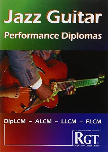 9781905908271: RGT Jazz Guitar Performance Diplomas Handbook (Registry of Guitar Tutors)