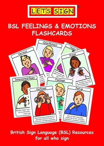 9781905913237: Let's Sign BSL Feelings & Emotions Flashcards