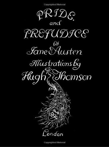 9781905921058: Jane Austen's Pride and Prejudice. Illustrated by Hugh Thomson.