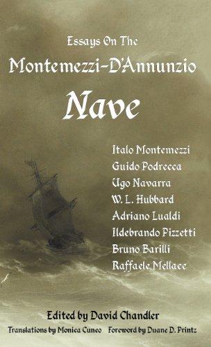 9781905946310: Essays On The Montemezzi-D'Annunzio Nave