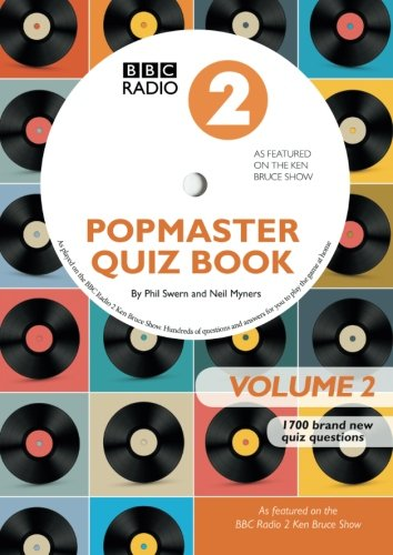 9781905959792: BBC Radio 2 Popmaster Quiz Book 2: 1700 Brand New Quiz Questions: Book 2