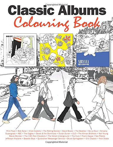 Classic Albums Colouring Book: Young, Mark