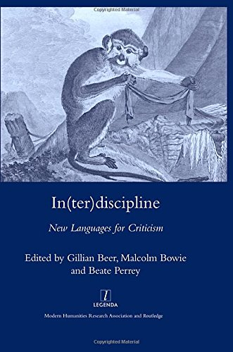 9781905981137: In(ter)discipline: New Languages for Criticism (Legenda Main Series)