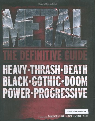 9781906002015: Metal: The Definitive Guide