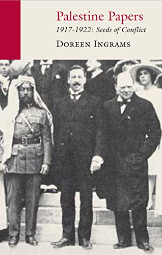 9781906011383: Palestine Papers: 1917-1922: Seeds of Conflict