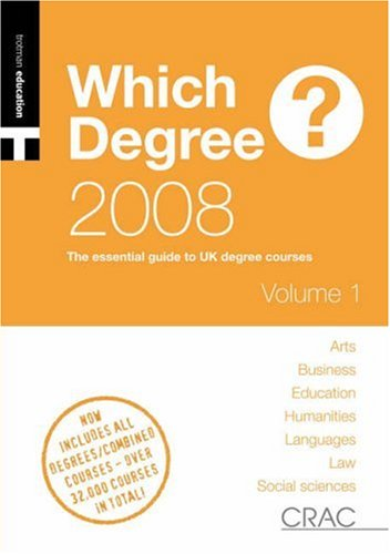 Students' Guide to UK Degree Courses: See Image