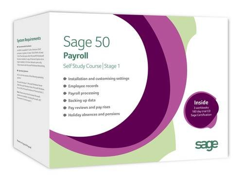 9781906048389: Sage 50 Payroll 2011 Self Study Course: Stage 1 with Sage Certification