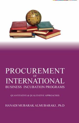 Procurement of International business incubation programs: Hanadi Mubarak Al-Mubaraki, Ph.D
