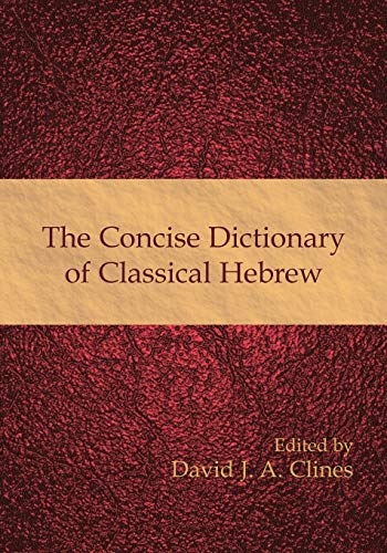 9781906055790: The Concise Dictionary of Classical Hebrew